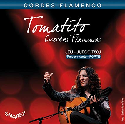 Cordes Flamenco Tomatito Savarez Tension Forte