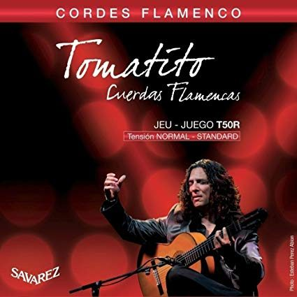 Cordes Flamenco Tomatito Savarez Tension Normale