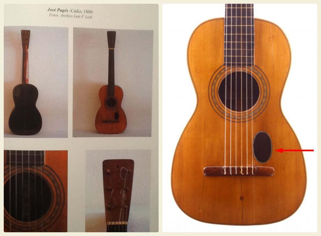 Jose Pages Romantic guitar plaque bois