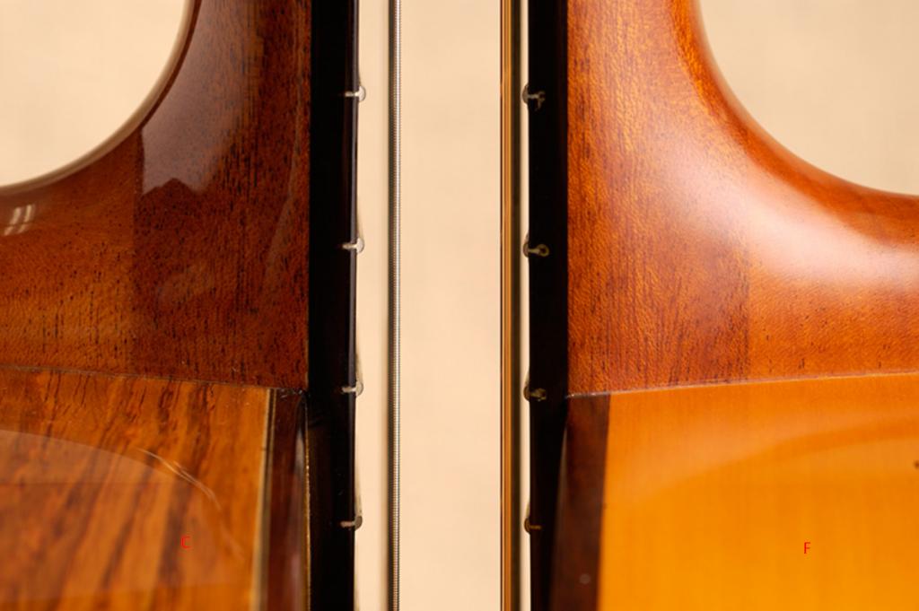 diferencia en la altura de las cuerdas de la guitarra clásica y la flamenca