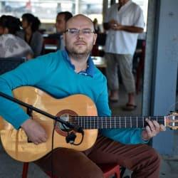 nicolas, professeur de guitare flamenca