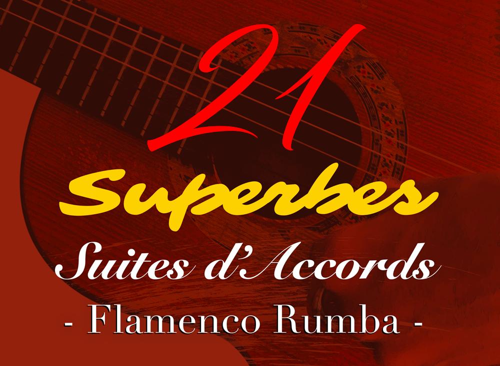 suites d'accors guitare flamenco rumba